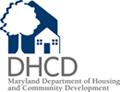 Logo for Maryland Department of Housing and Community Development.