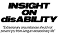 Logo for our sponsor Insight on Disability.
